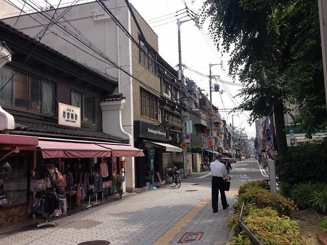 大阪四天王寺 熊野街道