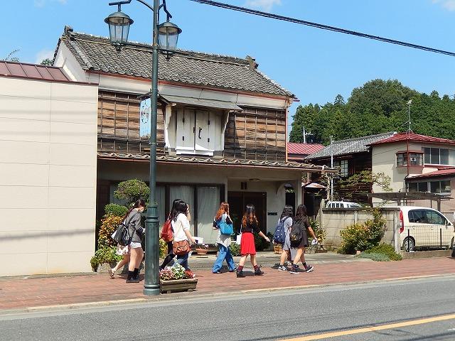 昭和レトロの青梅宿を女子大生がゆくよ