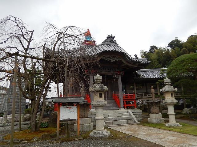 那珂湊 華蔵院の薬師堂