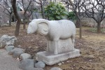未の年の羊めぐり ― 瑞圓寺