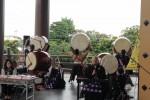 身体の芯に響く豊山の太鼓