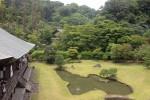 建長寺 紫雲閣から眺める