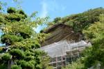 【修復中】崖の観音 大福寺