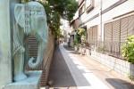 品川真了寺 地域の暮らしを見守る象
