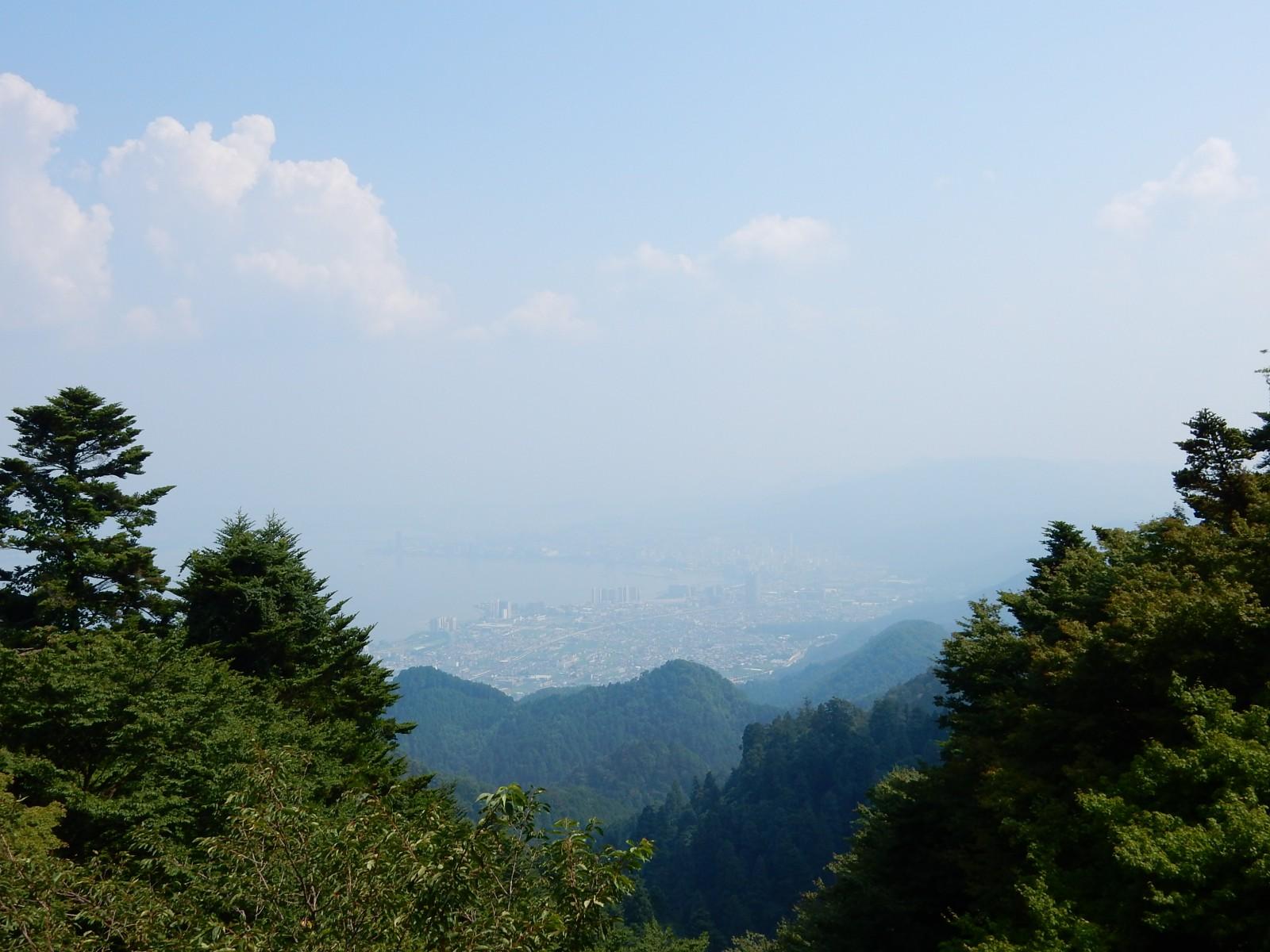 比叡山の涼風