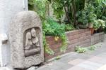 白河霊巌寺門前の双体道祖神