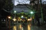 川越蓮馨寺 雨の宵