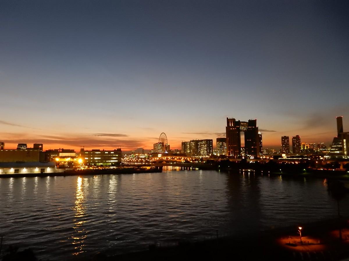 一日のエンディングを彩る東京湾景
