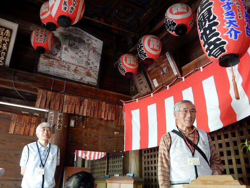 円空仏祭を運営されているボランティアの方々