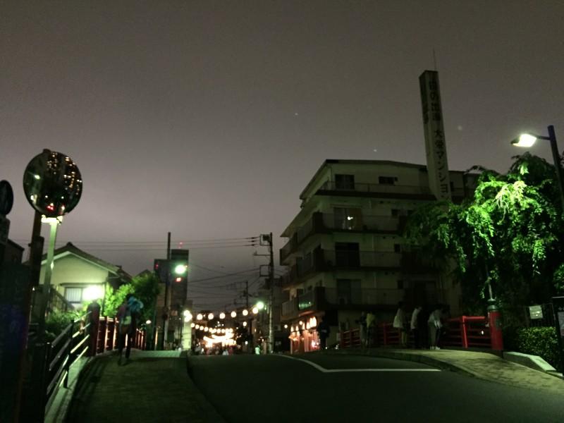 夏の夜の奇跡への入り口—佃小橋