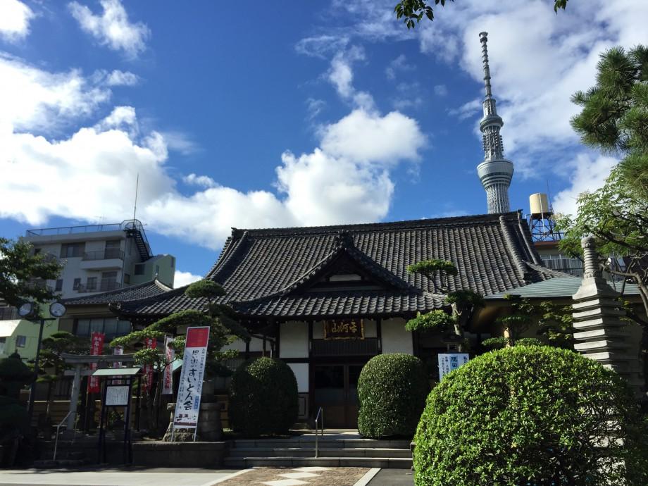 東京スカイツリーと鬼平