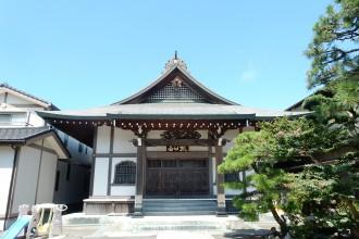 海中出現文殊菩薩 勧行寺