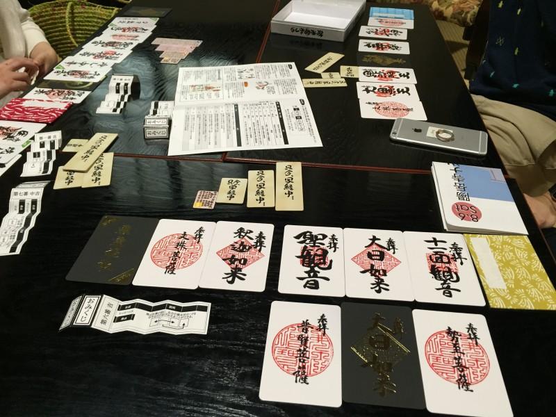 お寺でボードゲーム!