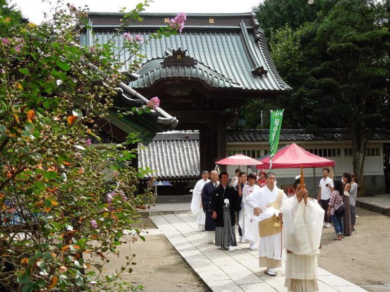 お寺での結婚式