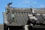 お寺の屋根瓦