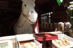 私は新田義貞公の霊馬です。|山口観音 金乗寺