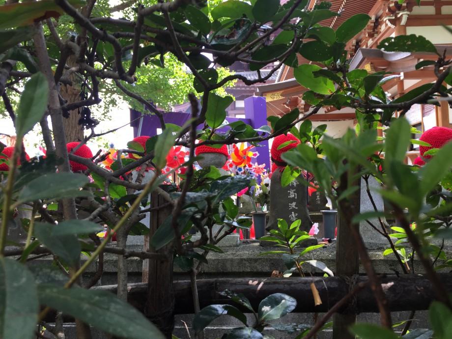 地蔵盆の子育地蔵
