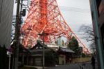 東京タワーの下には