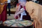 砂曼荼羅の破壇