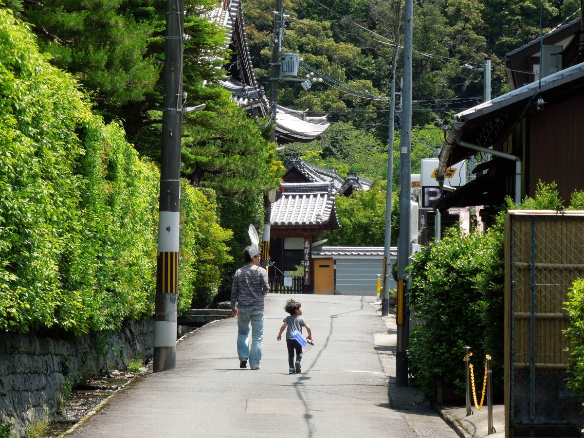 日曜日、ふだんの京都東山