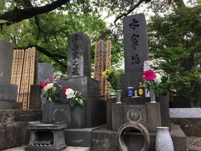 太宰治の命日、そして桜桃忌|禅林寺