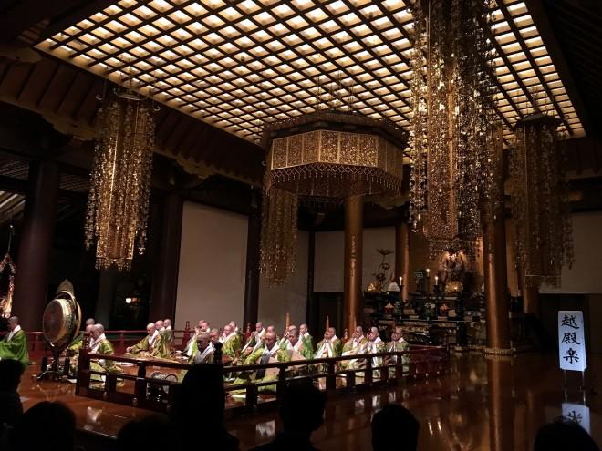 東京タワーの麓で愉しむ聲明と雅楽