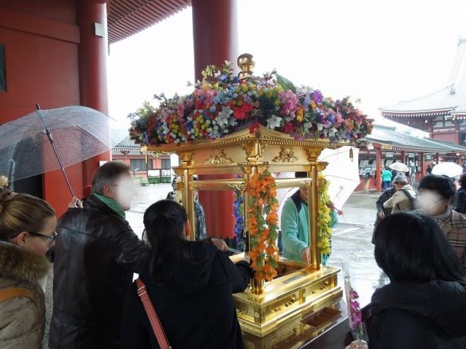 2015年4月8日浅草寺