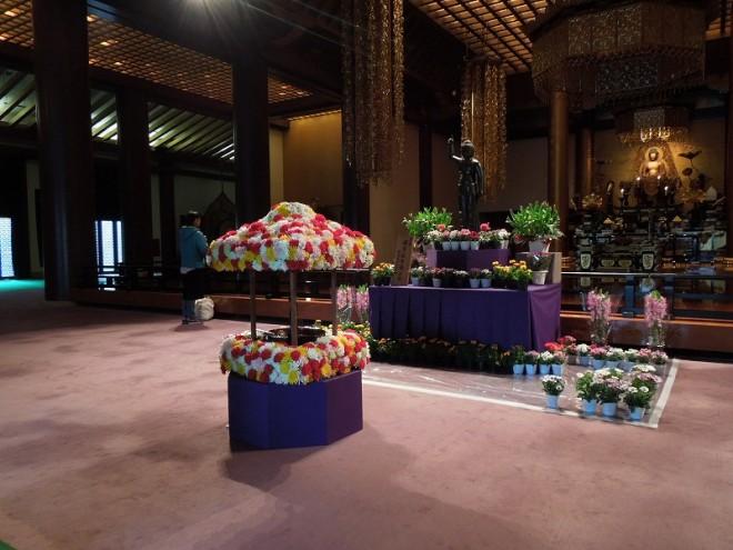 2015年4月8日増上寺花御堂