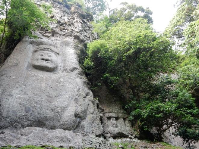 2016年5月27日撮影 熊野磨崖仏