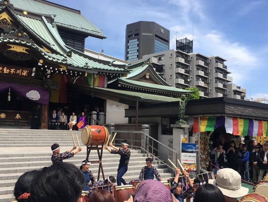 1年前の今日のお寺|深川龍神例大祭